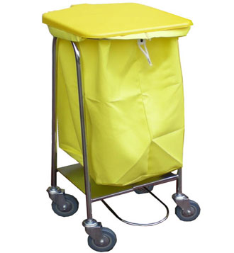 Single collection trolley