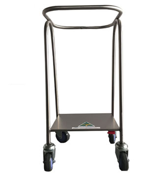 Collection Trolley without lid or pedal